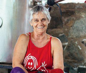 Nati gordillo, 100% women owned, pisco