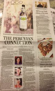 Peruvian pisco, Meg McFarland, Kami Kenna, Peruvian pisco, boutique distillery peru, Piscologia