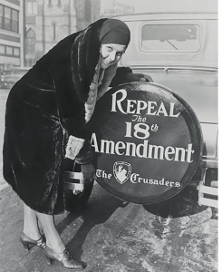 Women's Organization for National Prohibition Reform, end prohibition