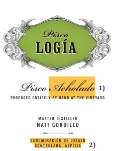 acholado, how to read a pisco label, pisco, peruvian pisco, best pisco