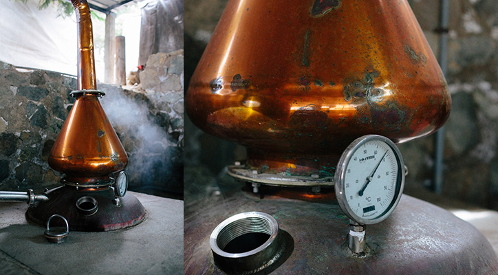 how is pisco made, peruvian pisco, copper still