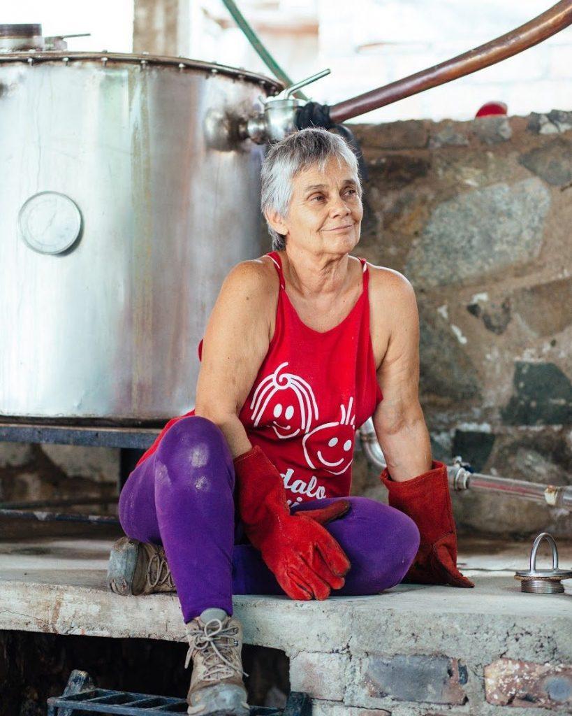 Nati Gordillo, pisco distiller, peruvian pisco, women liquor industry