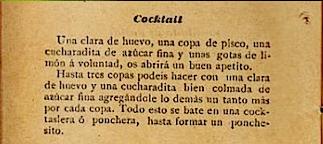 who invented pisco sour, victor morris, original pisco sour