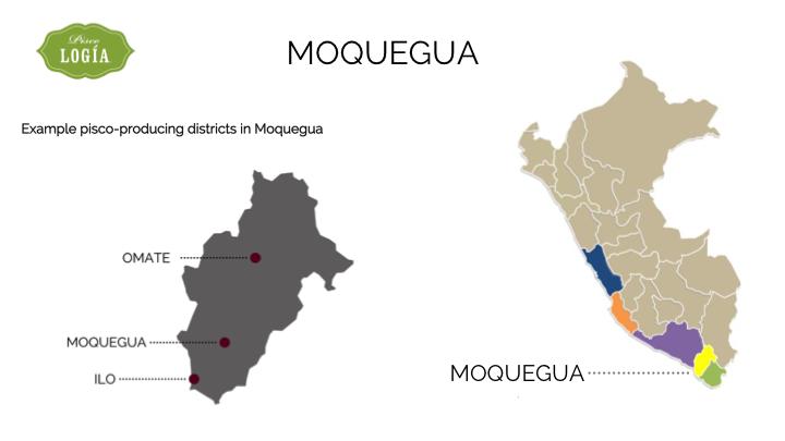 pisco moquegua, map moquegua D.O., mapa pisco en moquegua, ruta pisco peru, pisco route peru, map pisco regions peru